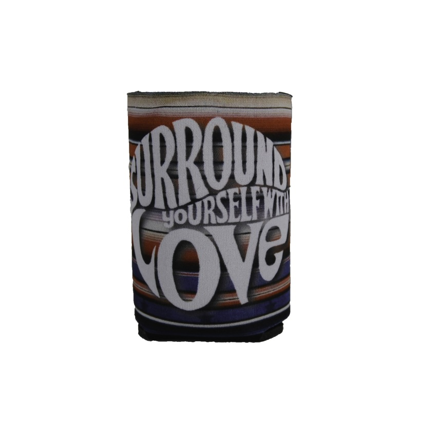 Surround Yourself with Love Blanket Can Cooler