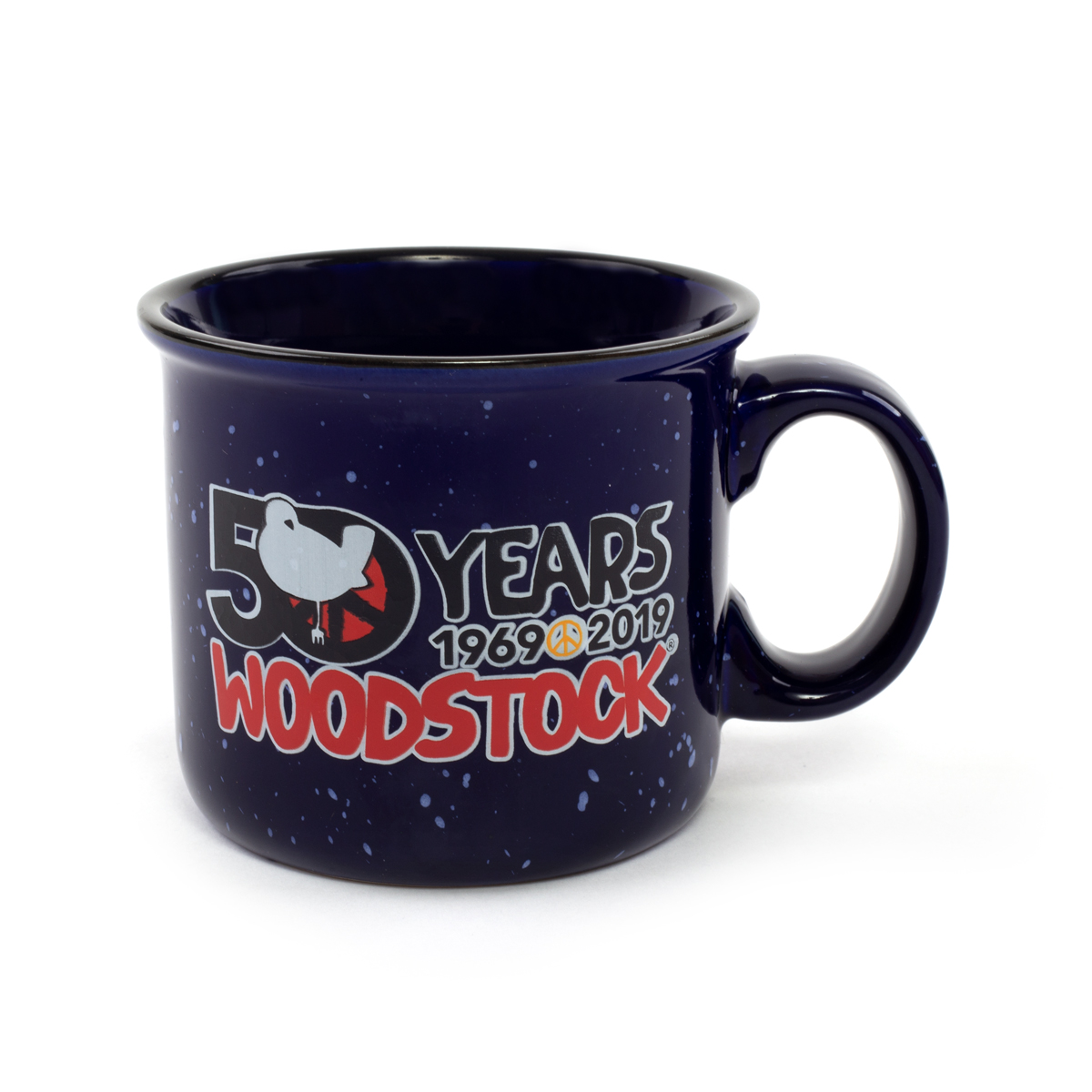 50 Years of Woodstock 1969-2019 Camp Mug