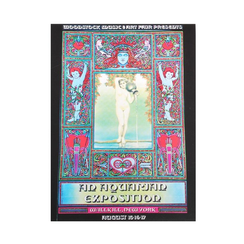 Walkill Woodstock Postcard