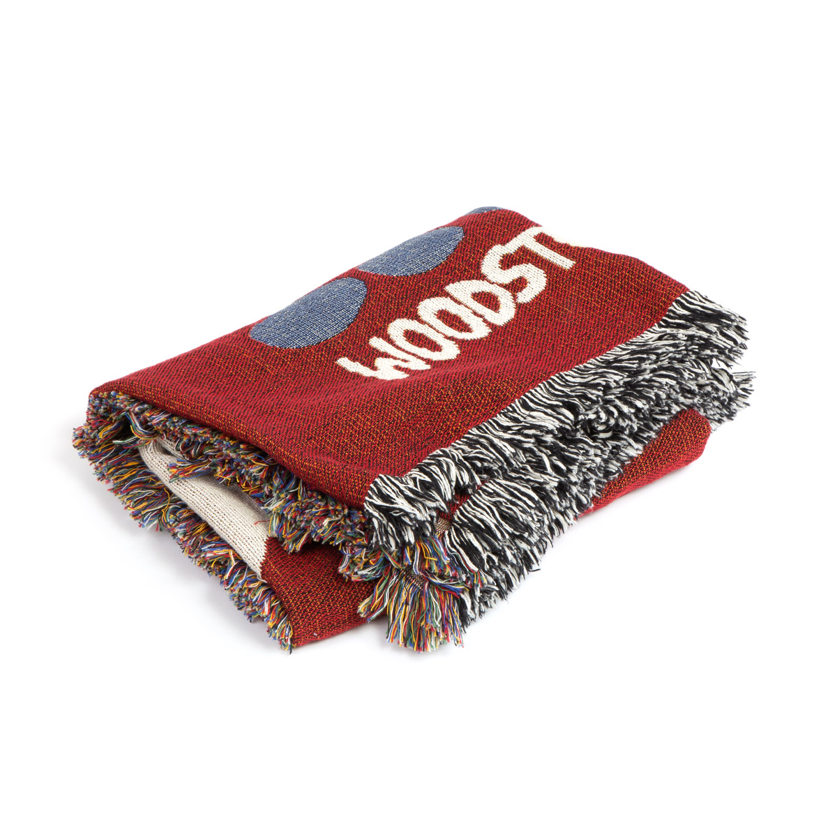 Woodstock Logo Throw Blanket