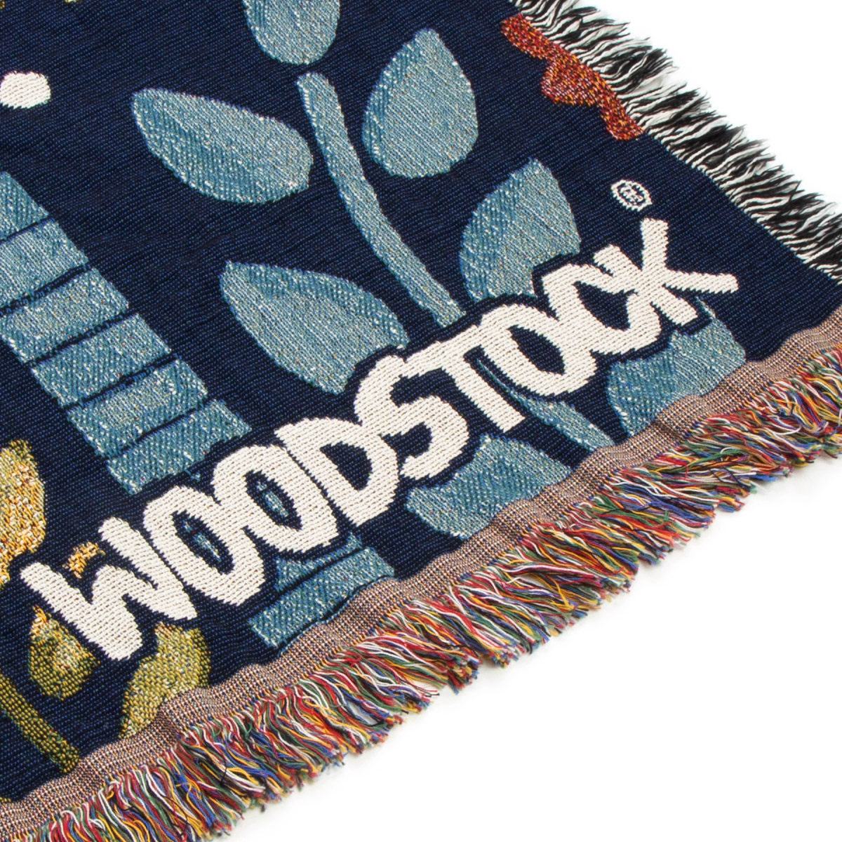 Woodstock Garden Throw Blanket