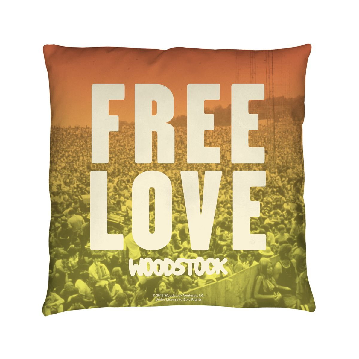 Woodstock Quoteable Throw Pillow