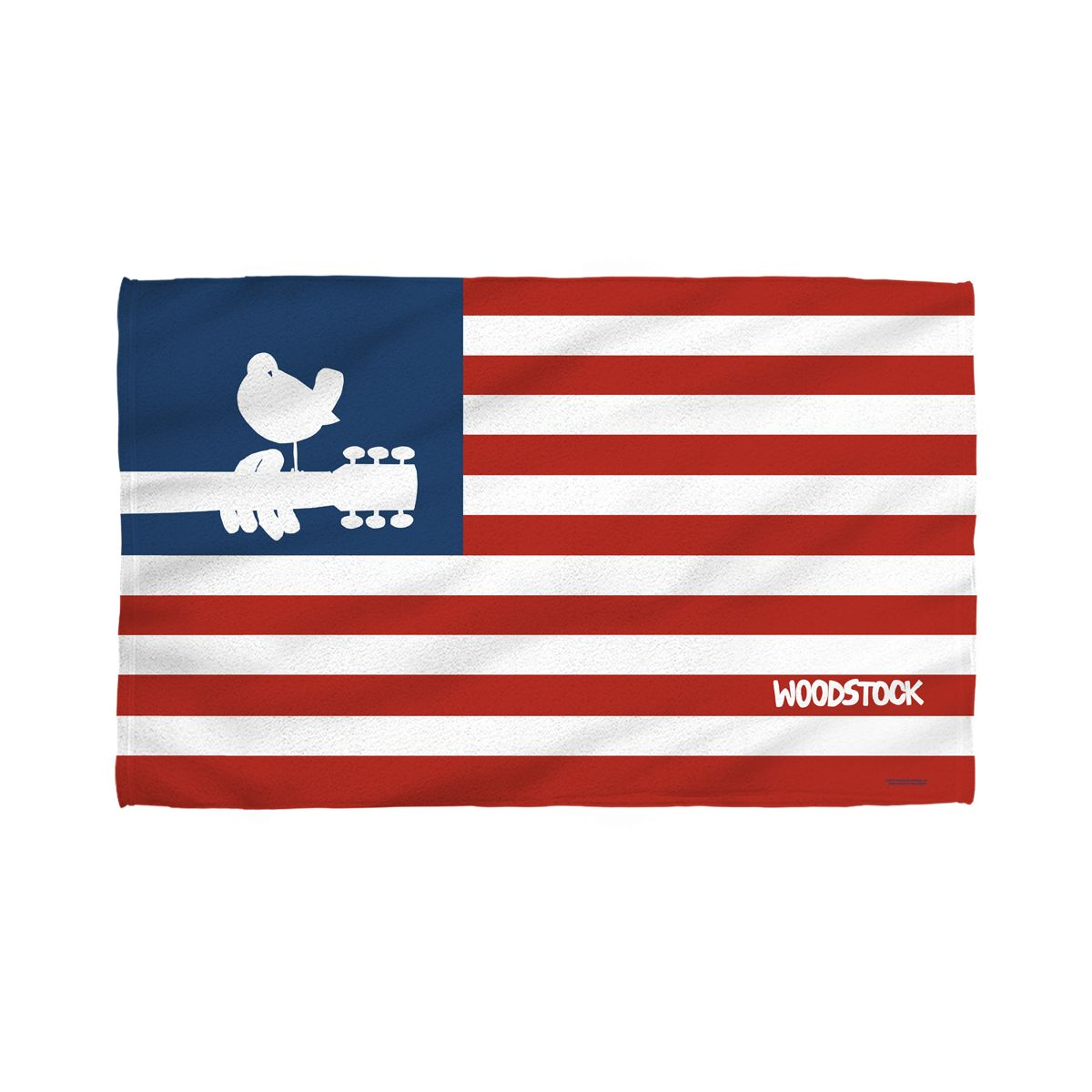 Woodstock Flag Golf Towel