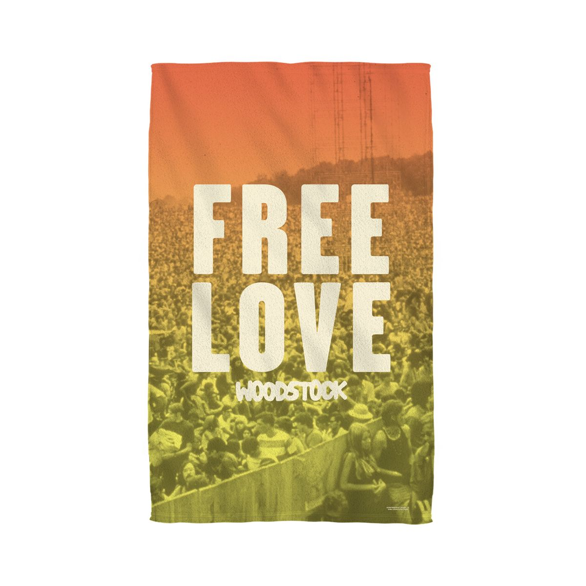 Woodstock Quoteable Golf Towel