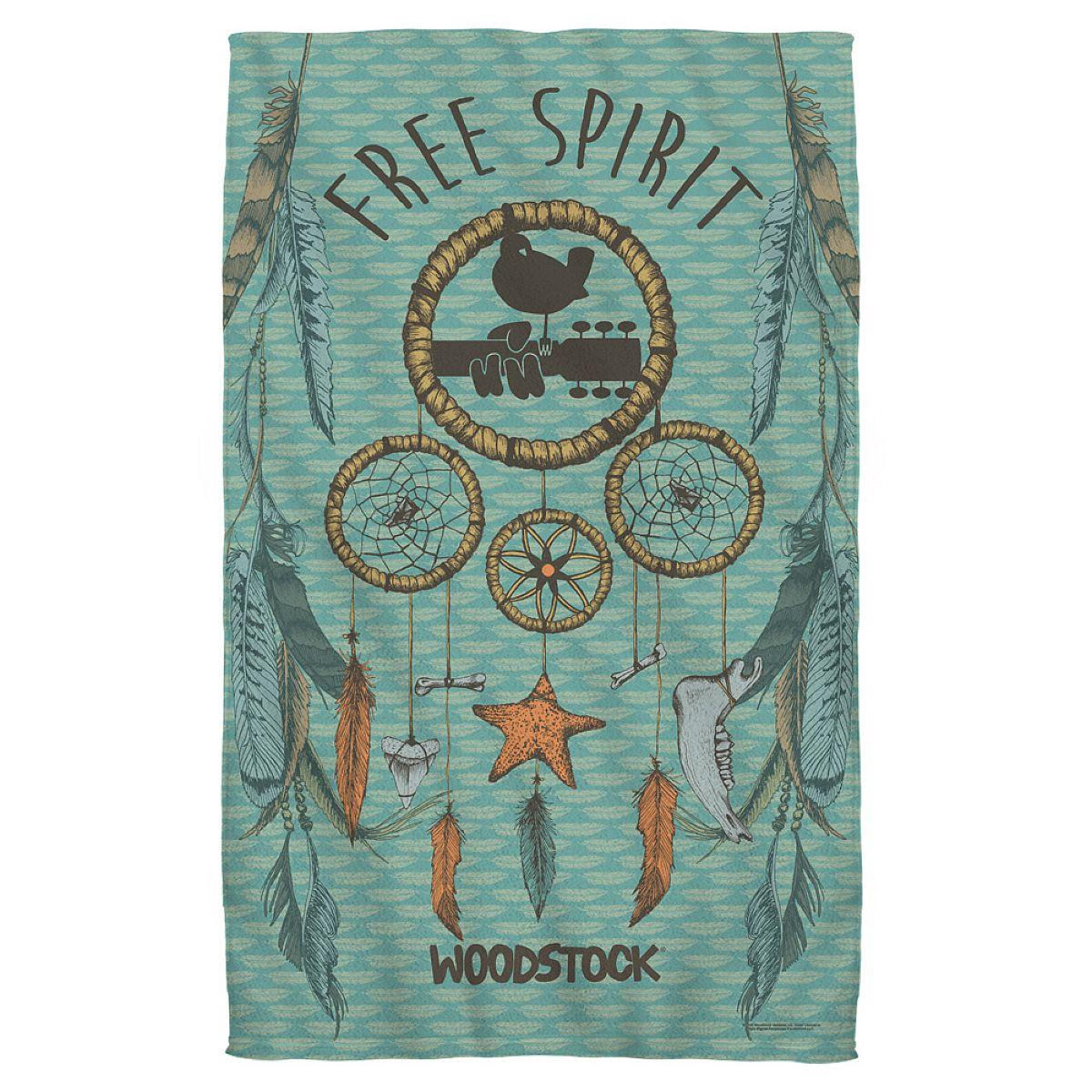 Woodstock Feathers Bath Towel