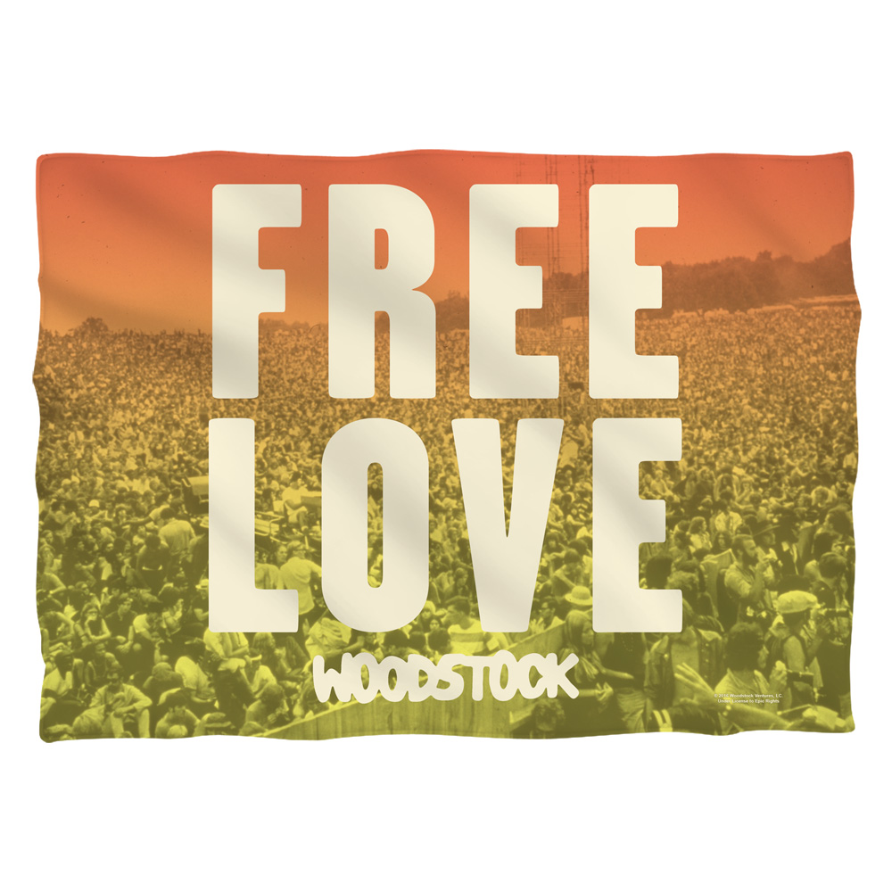 Woodstock Quoteable Pillow Case