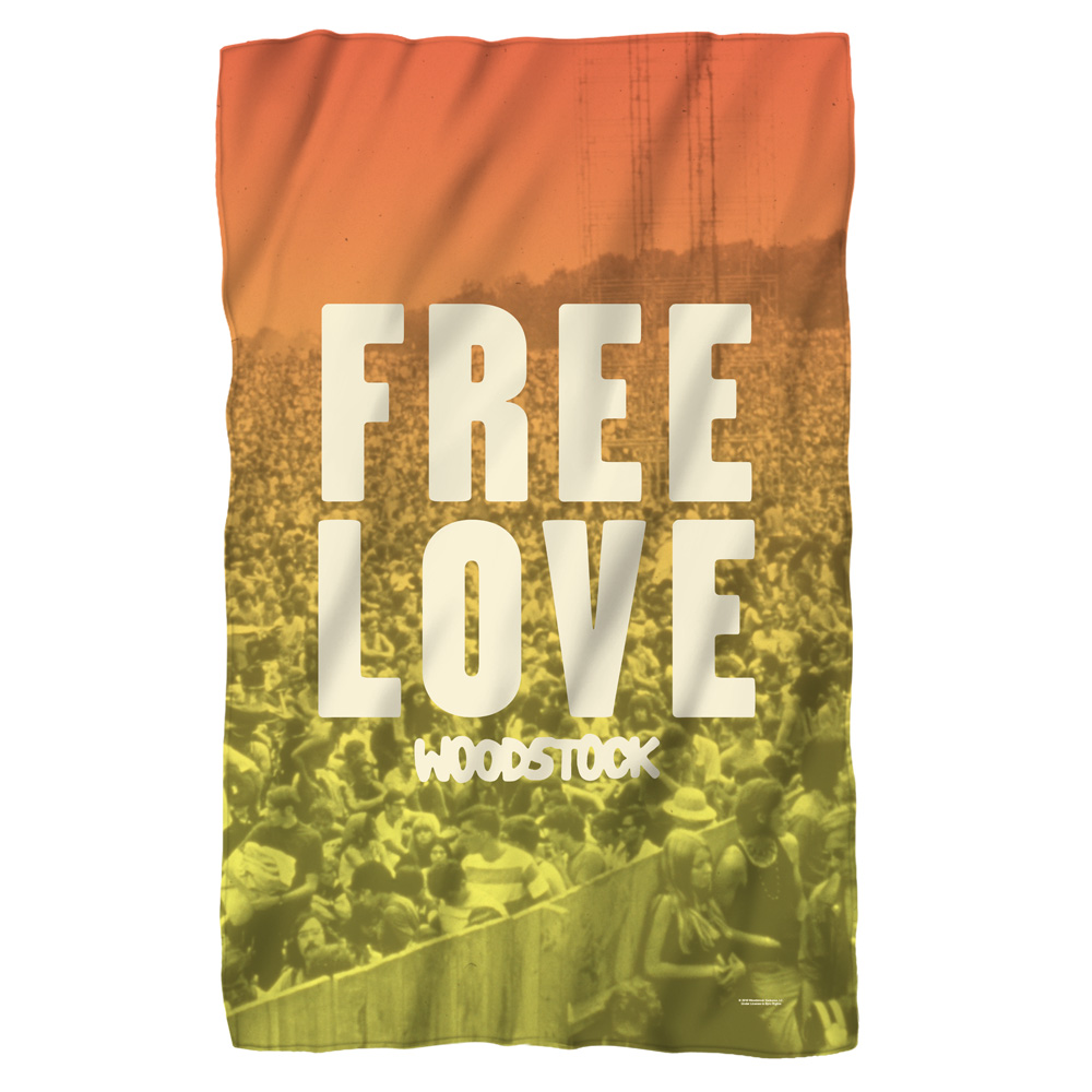 Woodstock Quoteable Fleece Blanket