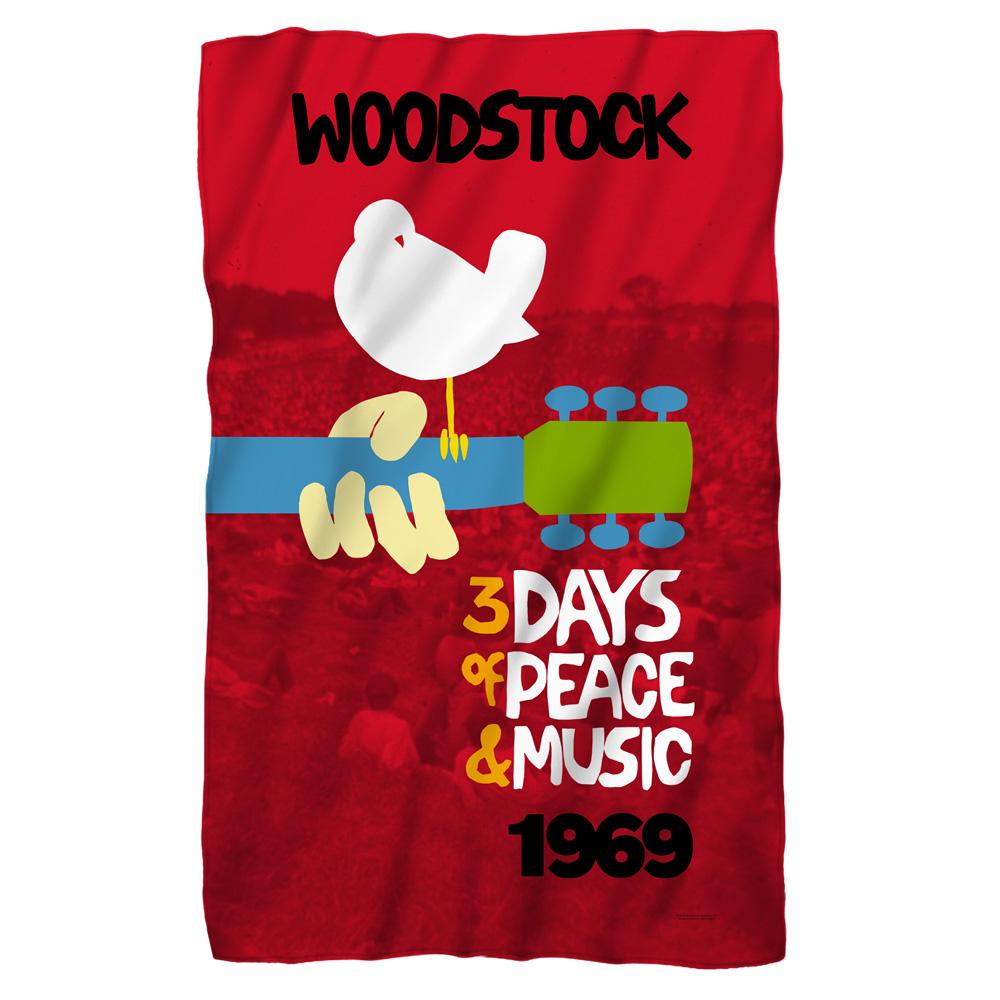 Woodstock Classic Fleece Blanket