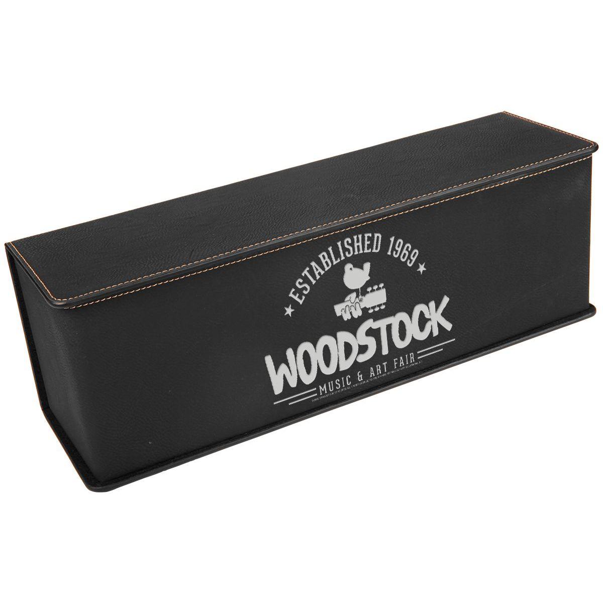Established 1969 Laser Engraved Wine Box Gift Set