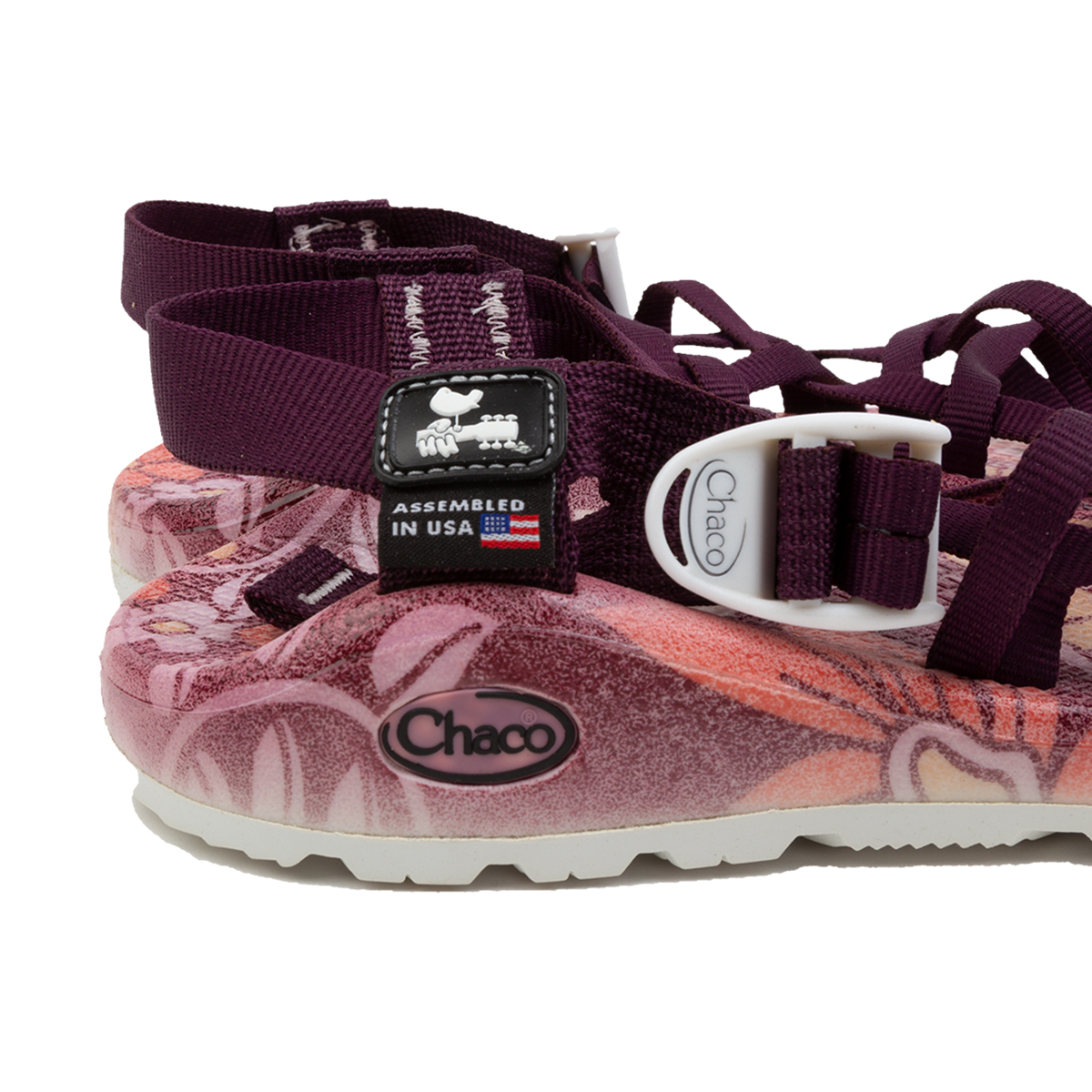 Chacos Woodstock Z Cloud X2 Blossom Wine Womens Sandals