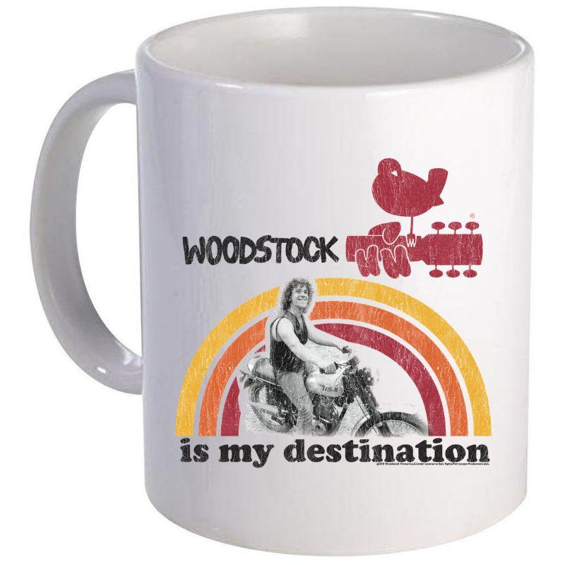 Woodstock Is My Destination Mug