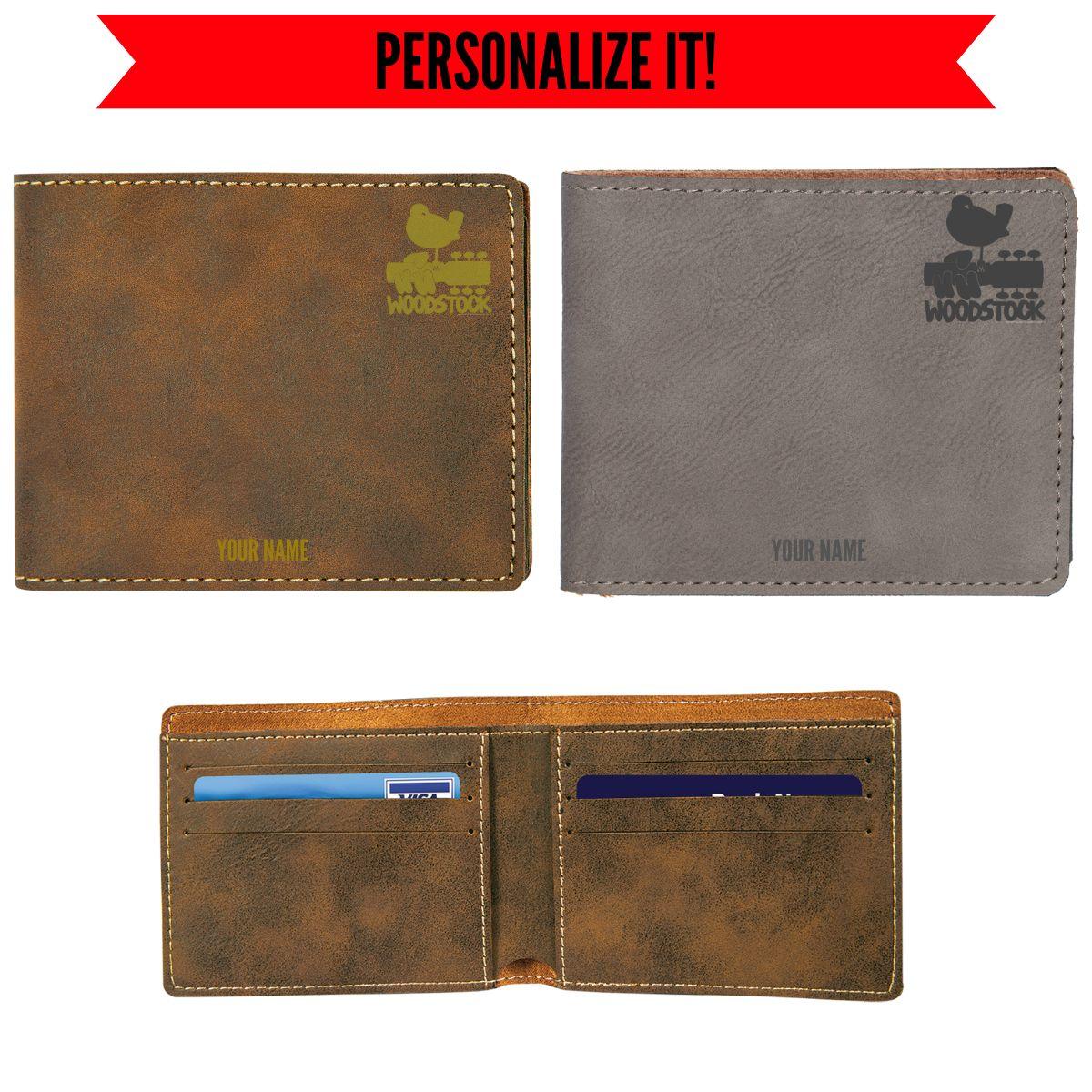Small Logo Vegan Leather Wallet