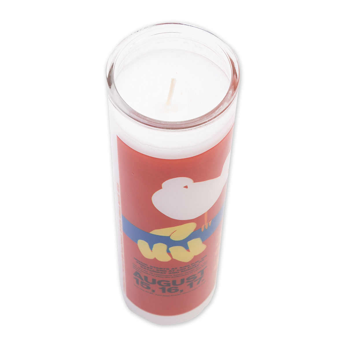 Woodstock Prayer Candle