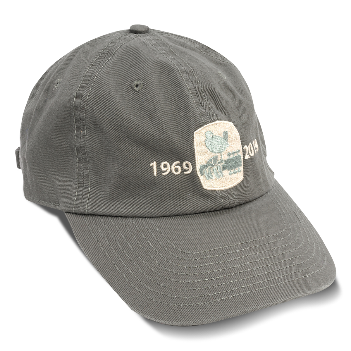 Woodstock 50th Anniversary Olive Twill Cap