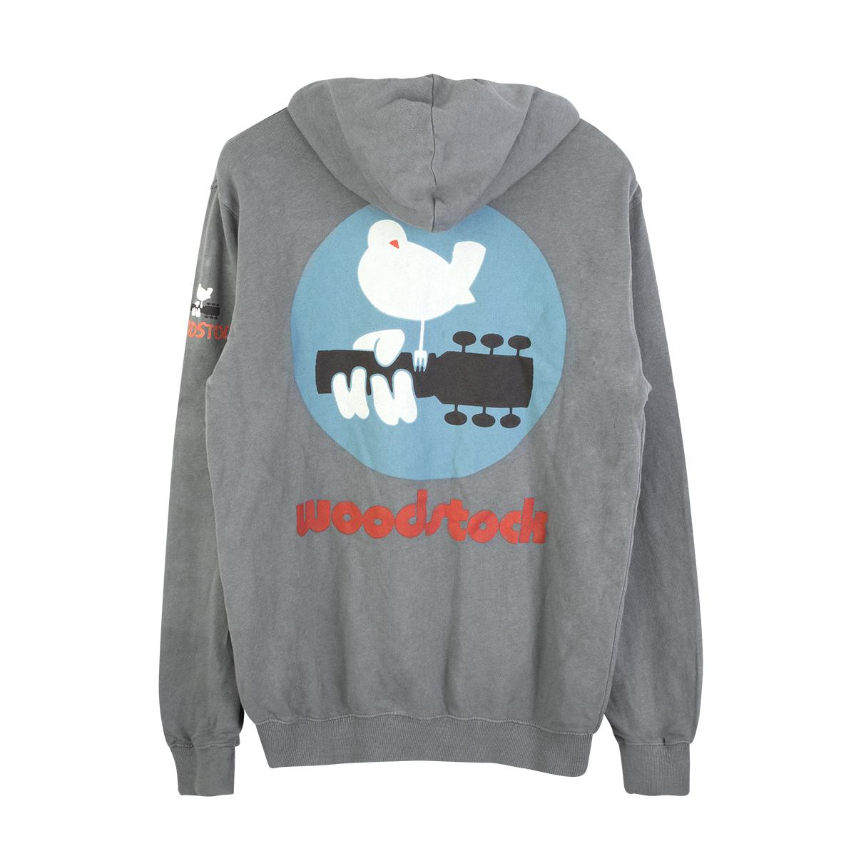 Woodstock Logo Zip Hoodie