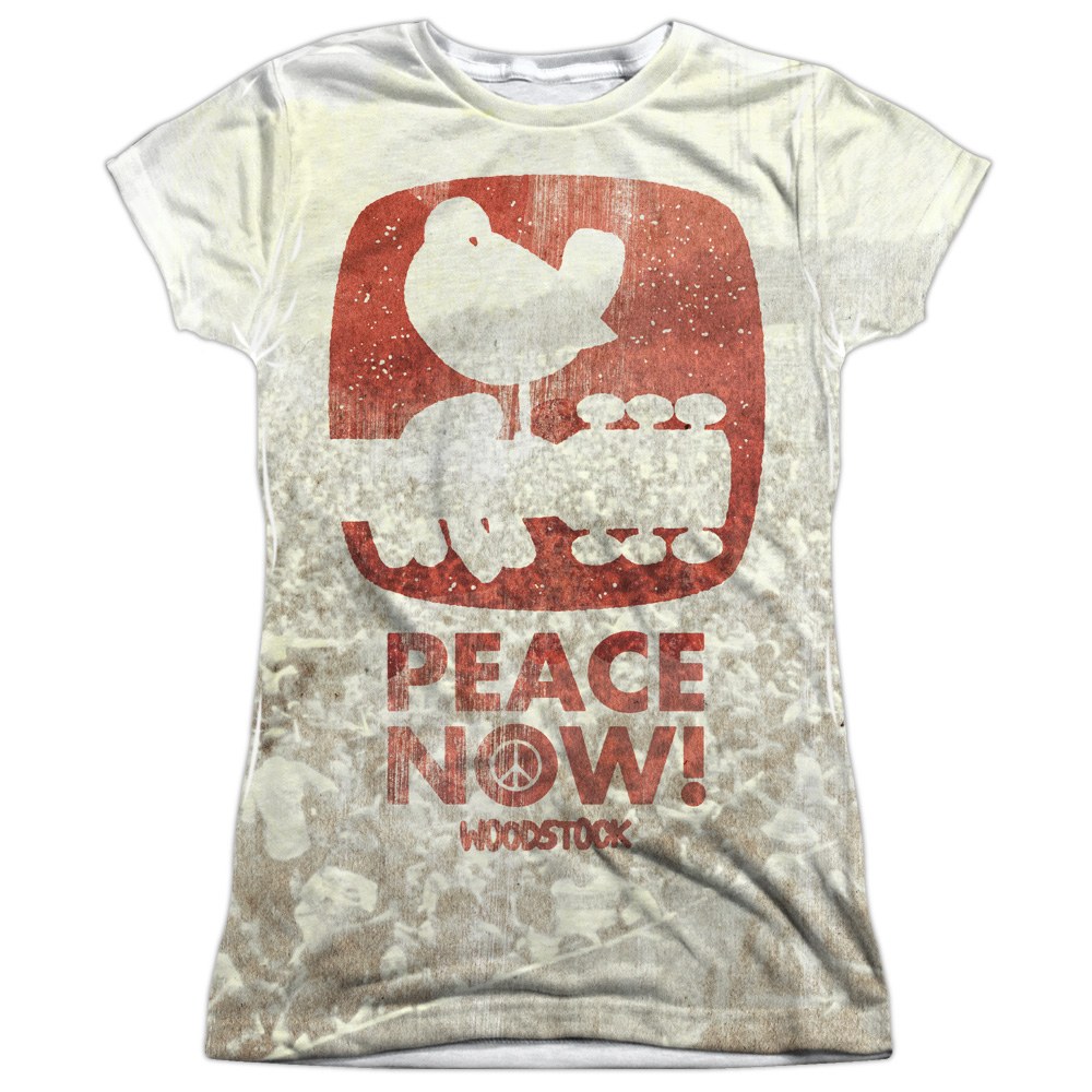 Junior's Woodstock Peace Now x Crowd Logo