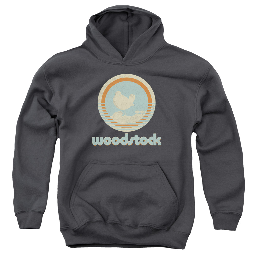 Youth Woodstock Bird Circle Logo