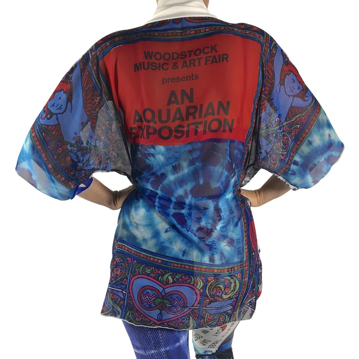 Woodstock Kimono Robe