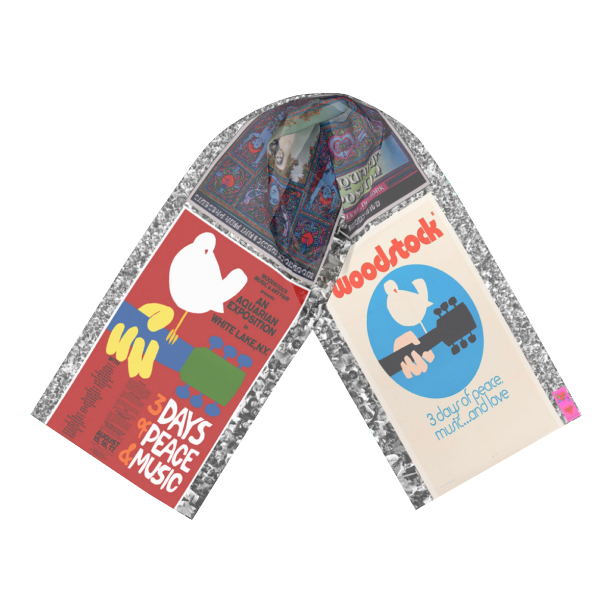 Woodstock Long Scarf