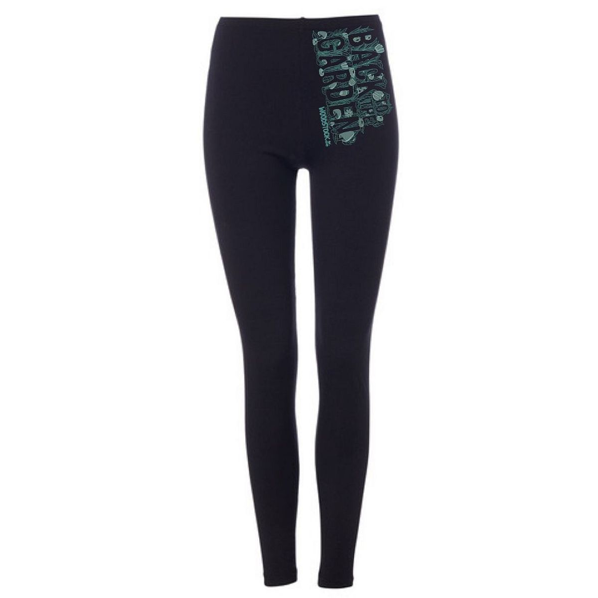 Green Logo Back To The Garden Leggings