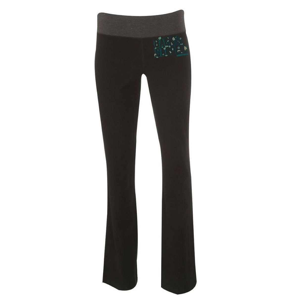 Green Logo Back To The Garden Yoga Pants
