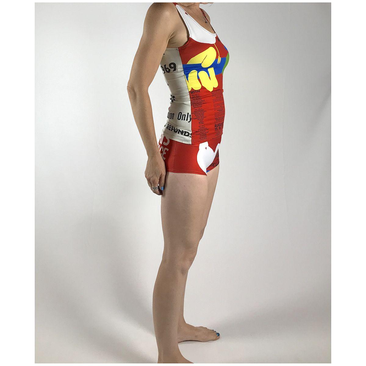 Woodstock Poster Short Short/Swim Suit Bottom