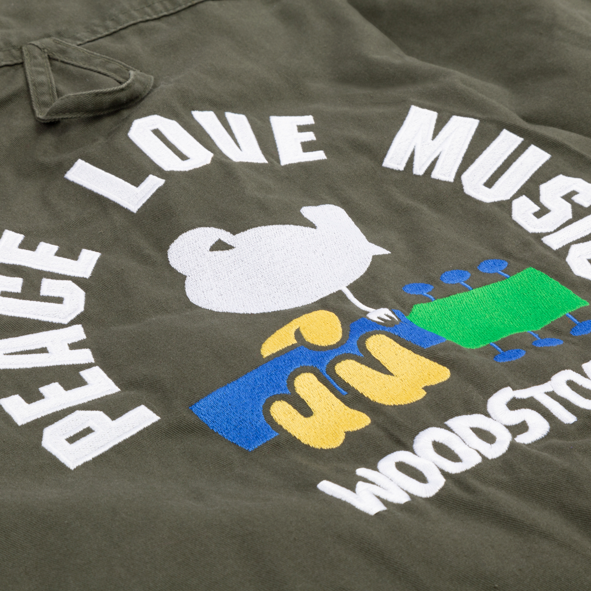 Woodstock Vintage Fatigue Shirt