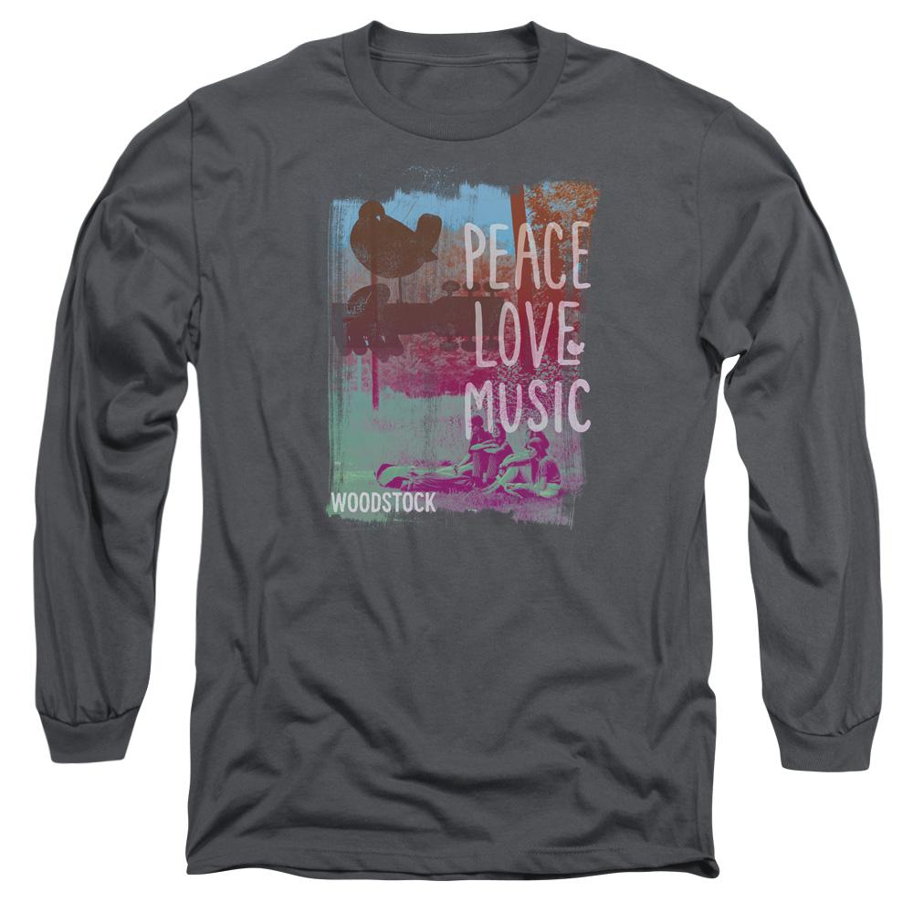 Woodstock Peace, Love, & Music Logo