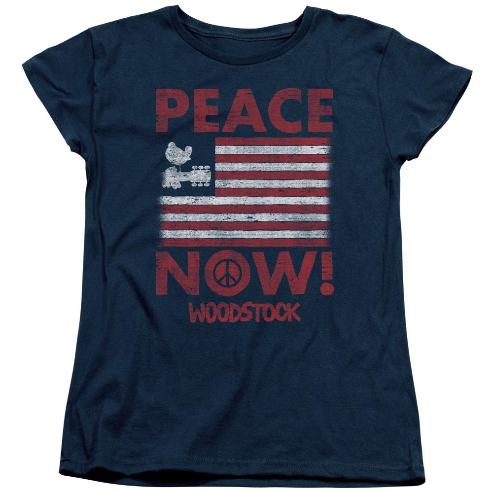Women's Woodstock Peace Now Logo