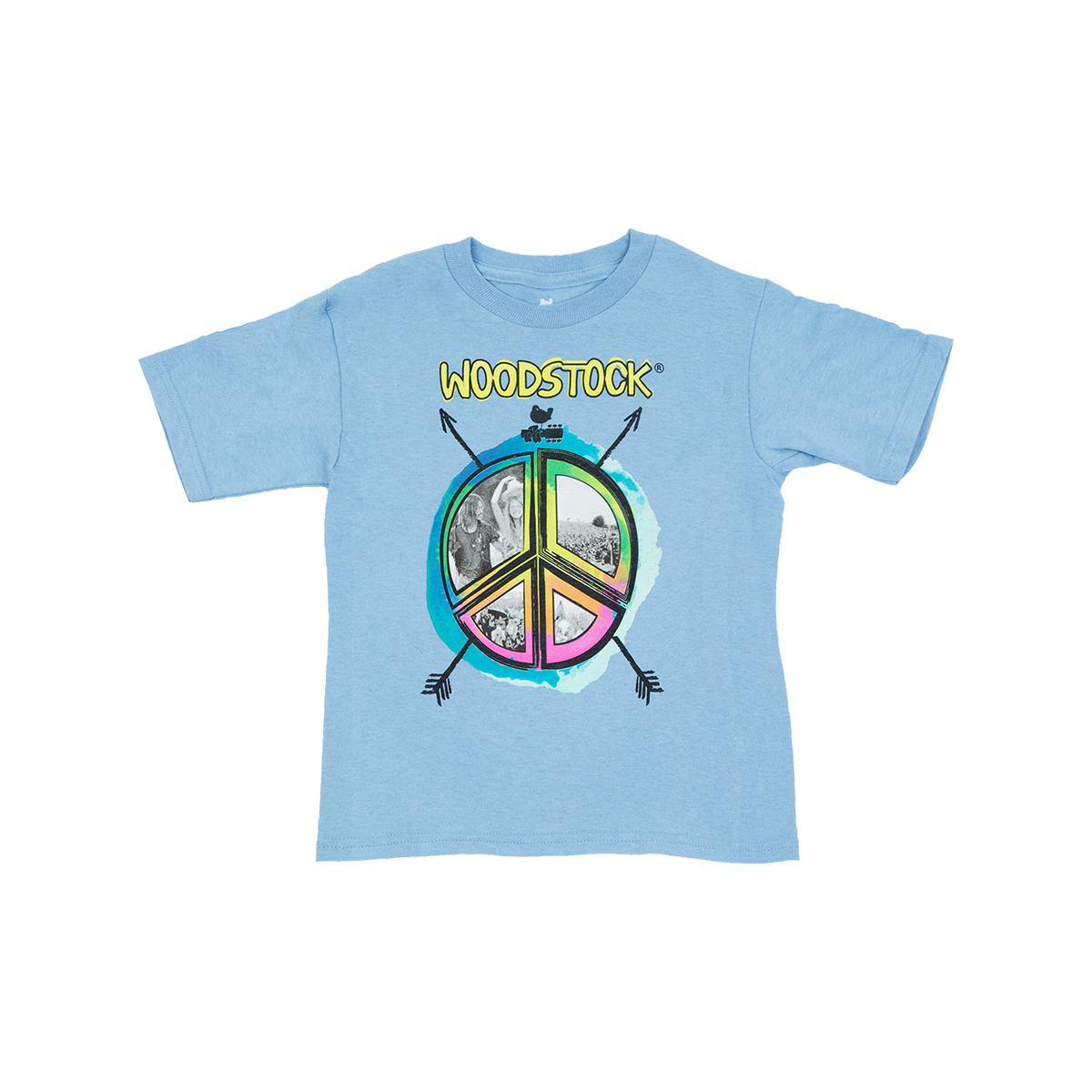Woodstock Peace Kids T-shirt