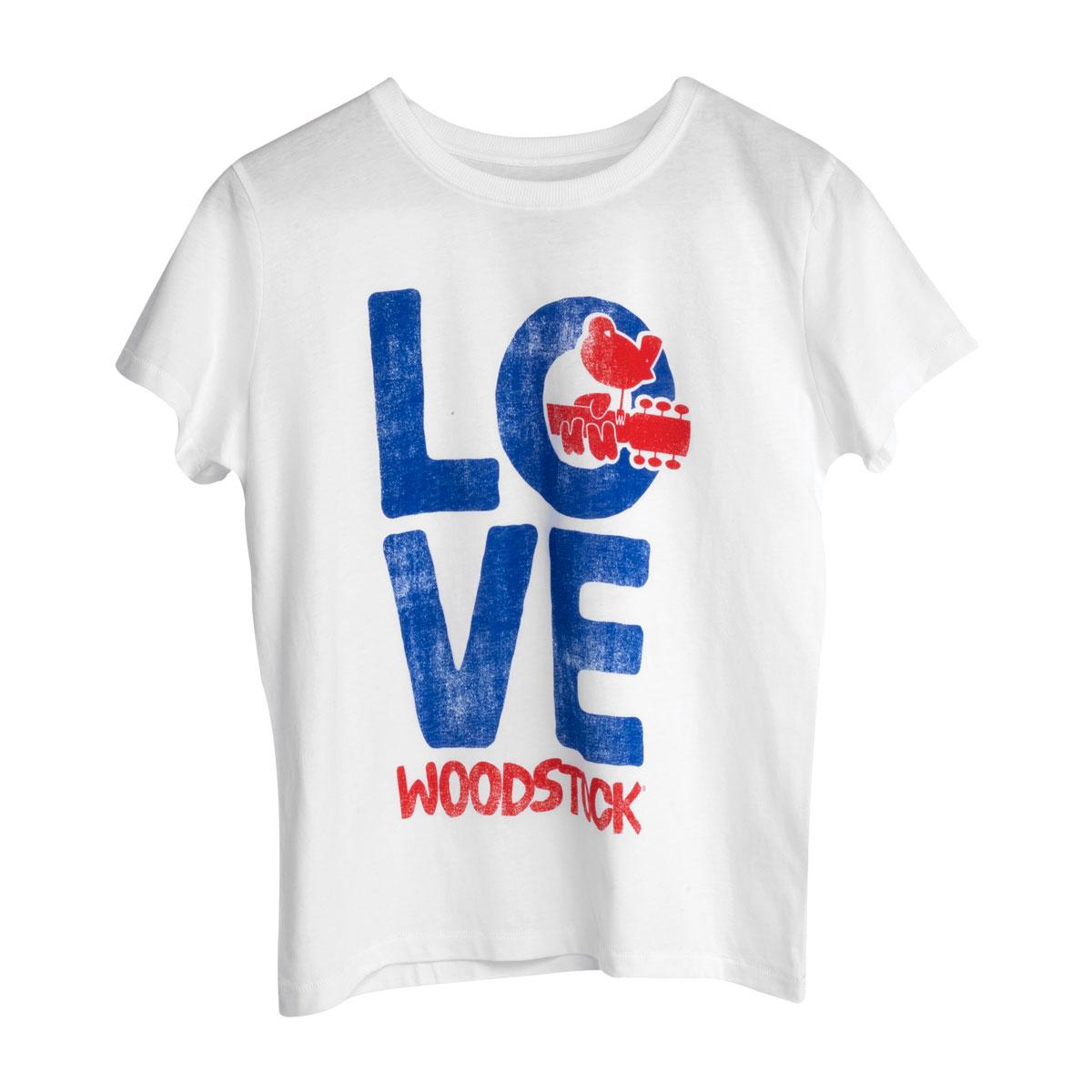 Woodstock LOVE Youth White T-shirt