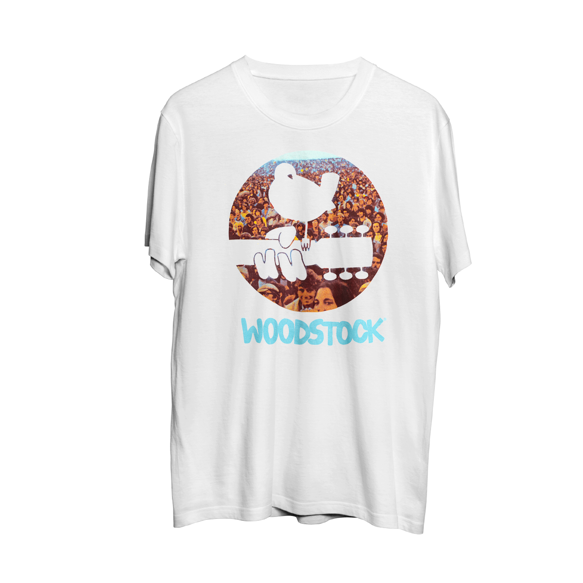 Woodstock Audience & Logo T-shirt
