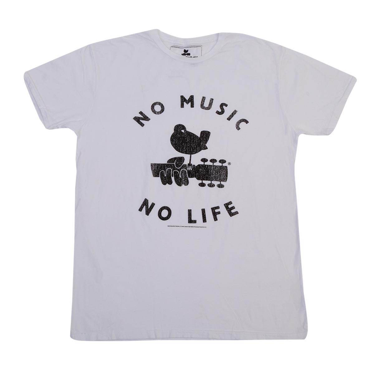 No Music No Life graphic t-shirt