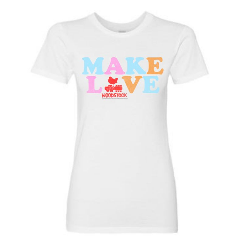 Women's Make Love Logo T-Shirt