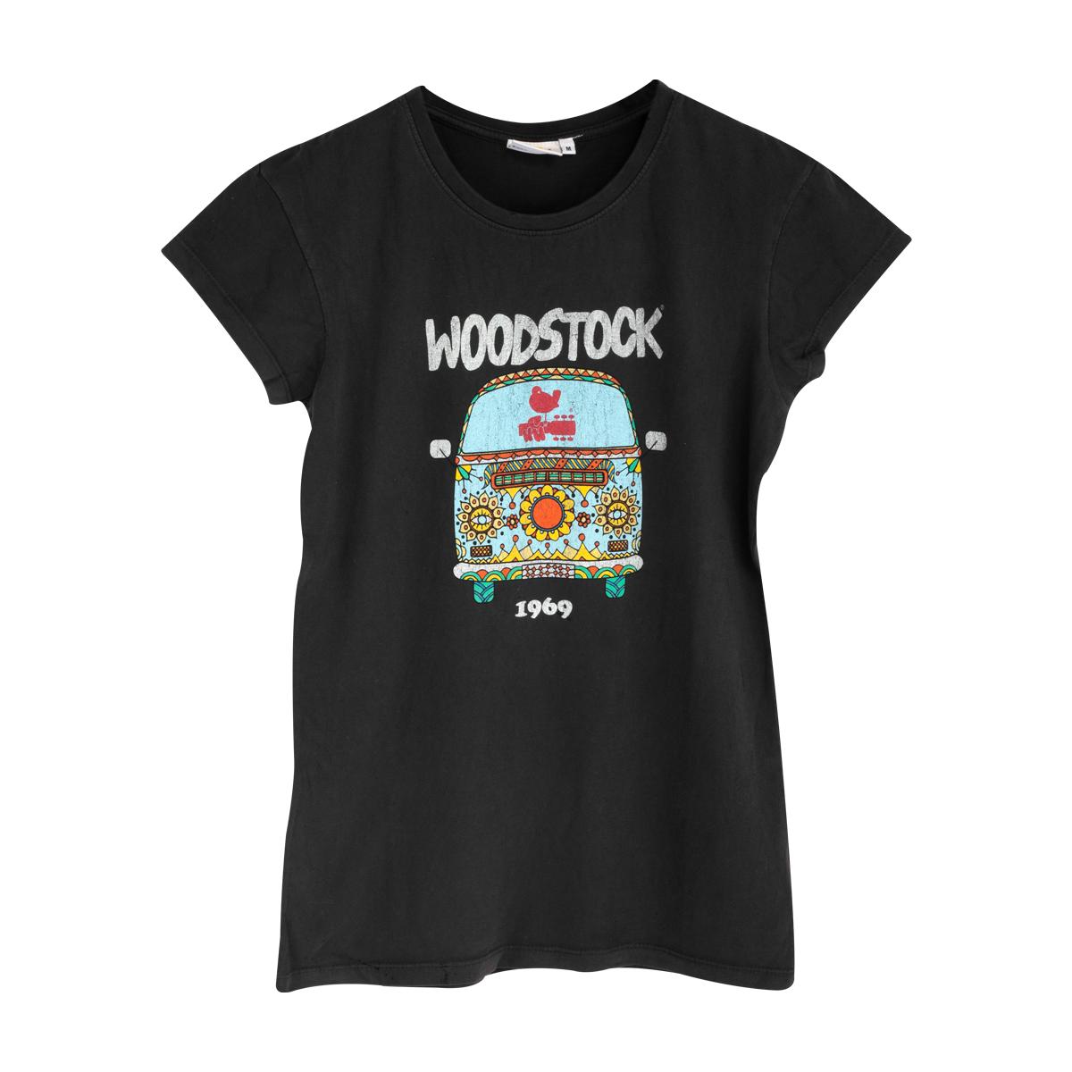 Ladies Hippie Van T-shirt
