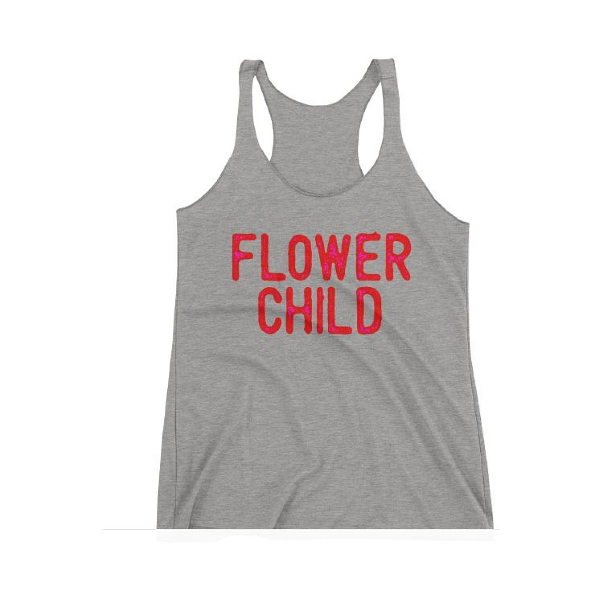 Flowerchild Heather Racer Tank