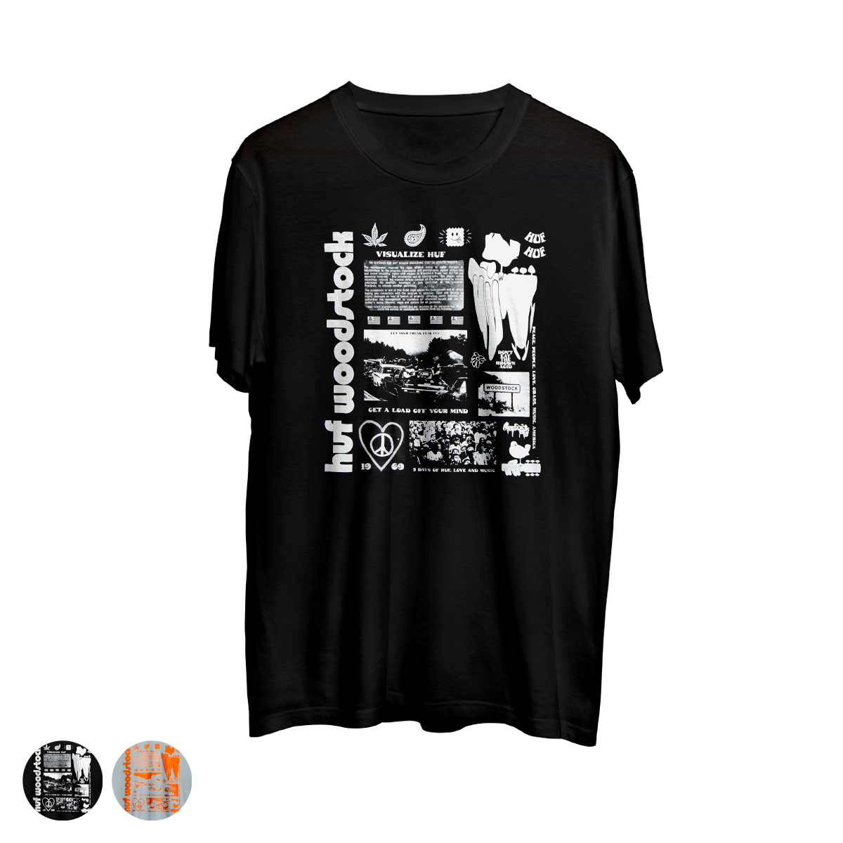 Woodstock x HUF Visualize T-shirt