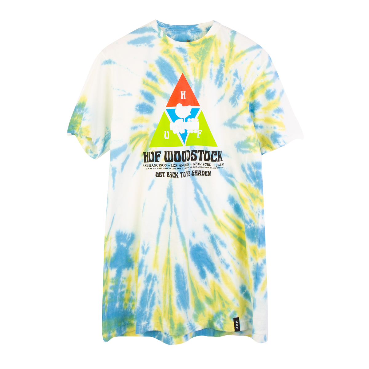 Woodstock x HUF Peaking Blue T-shirt