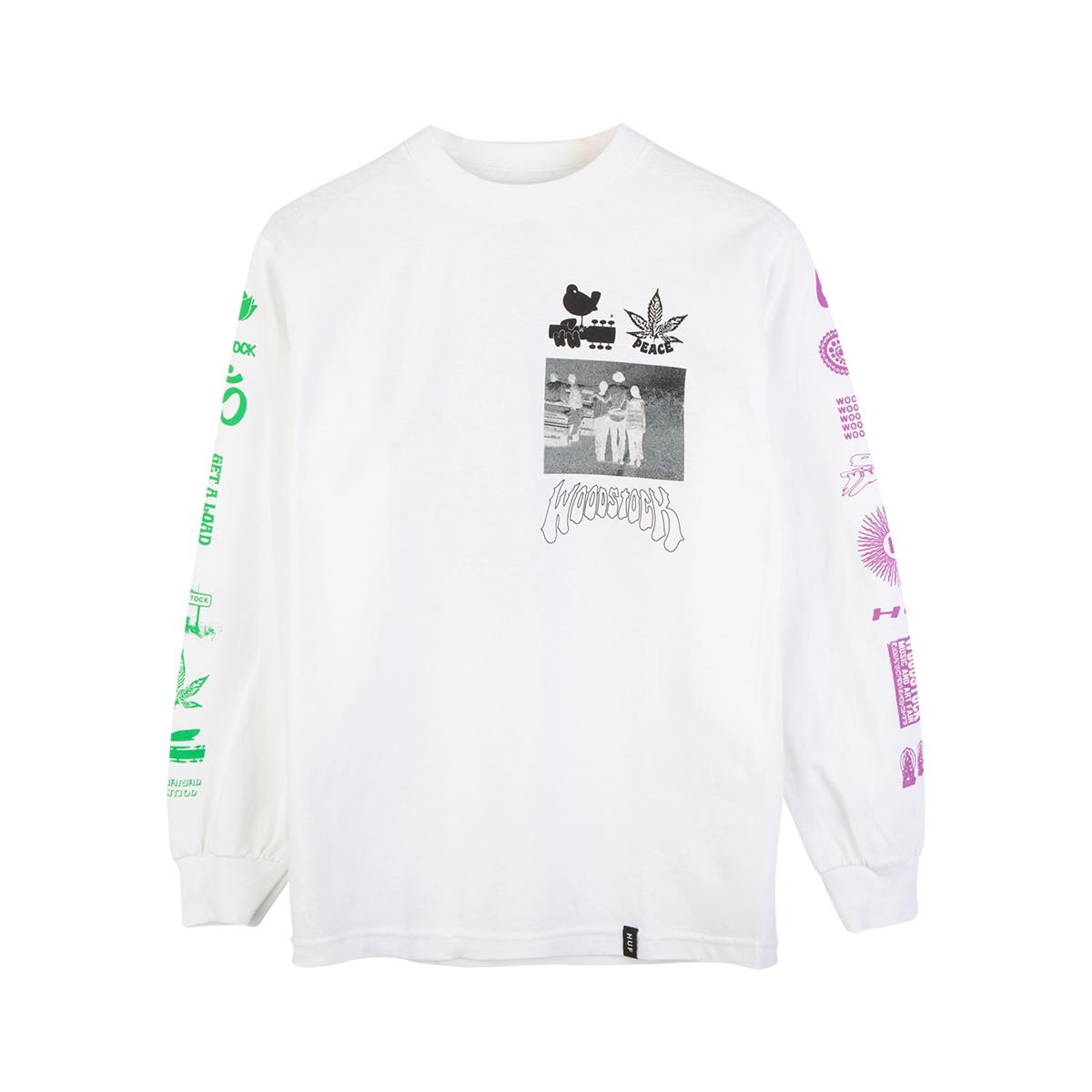 Woodstock x HUF Loaded LS T-shirt