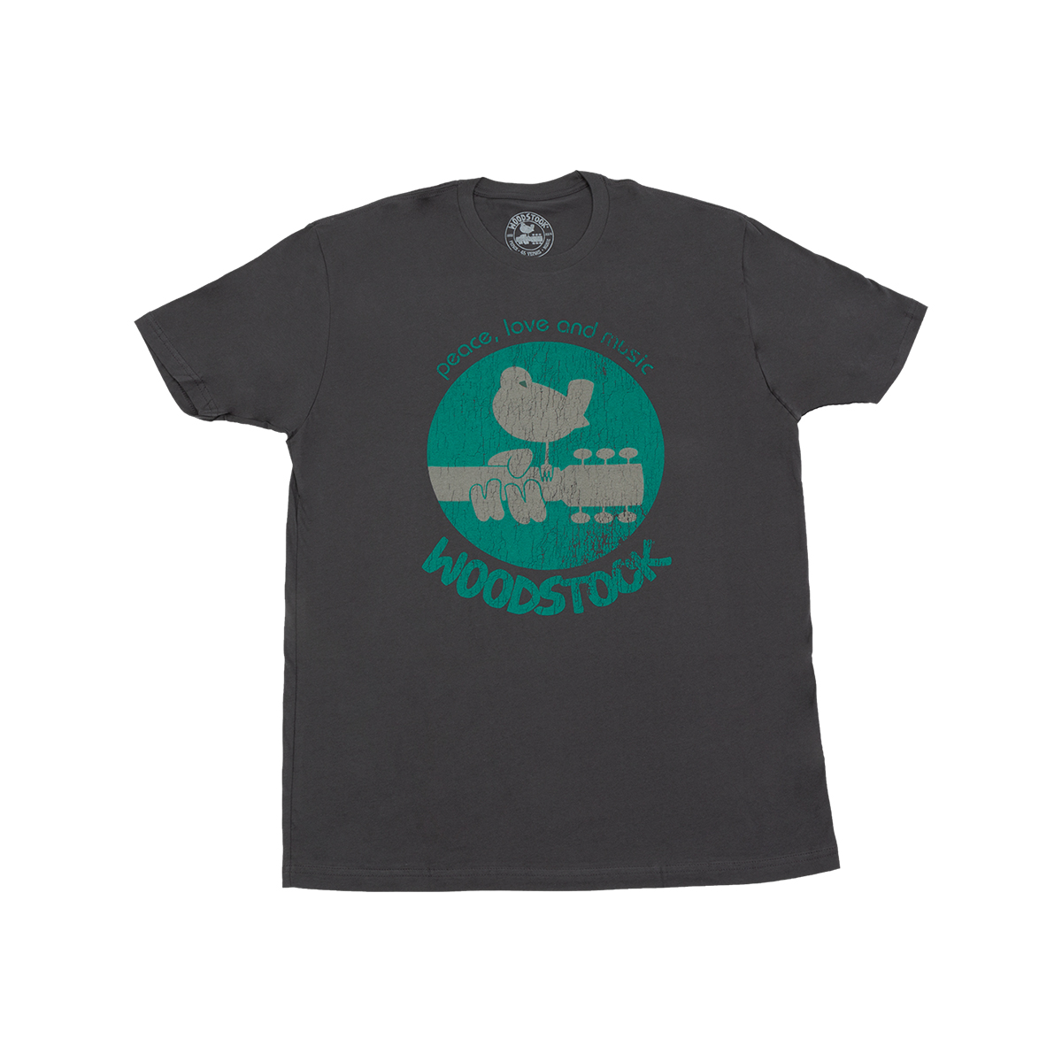 Dove on Guitar Crew T-shirt