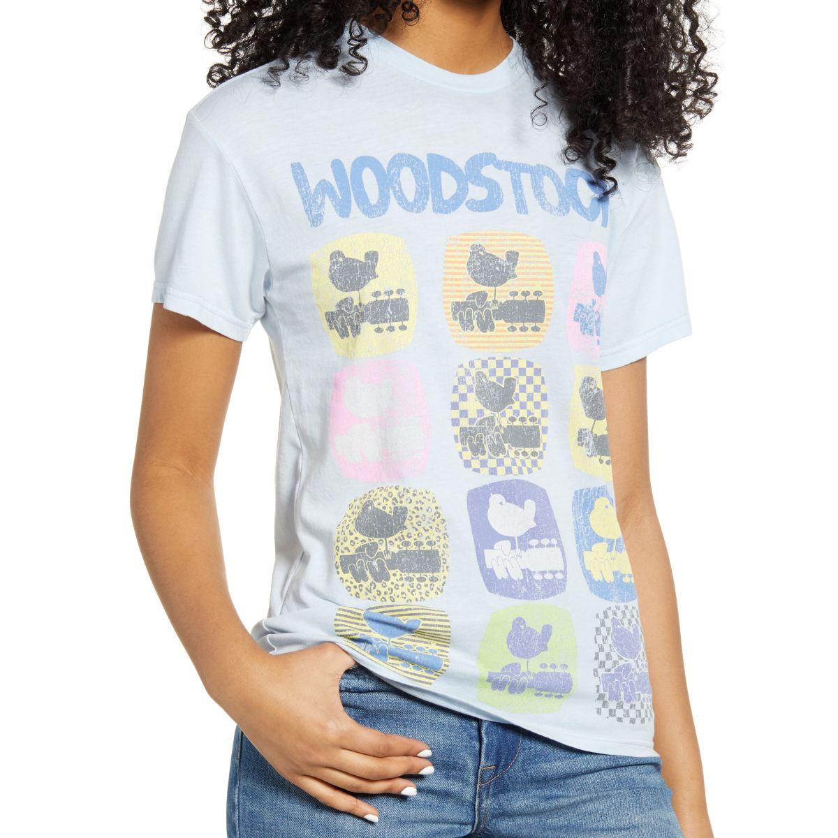 Woodstock Graphic Multi Logo Ladies T-shirt