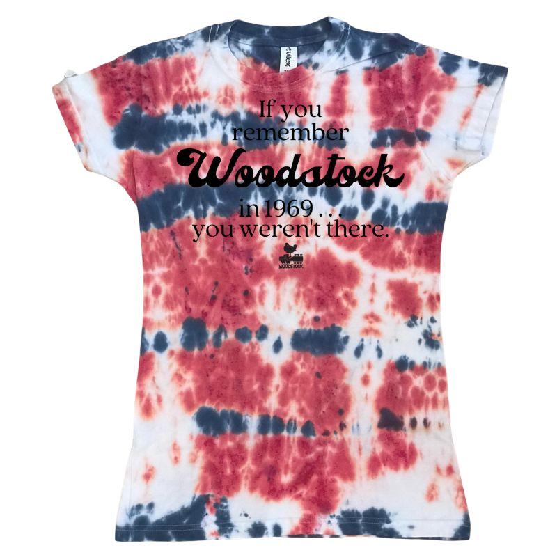 Women's If You Remember Tie-Dye T-Shirt