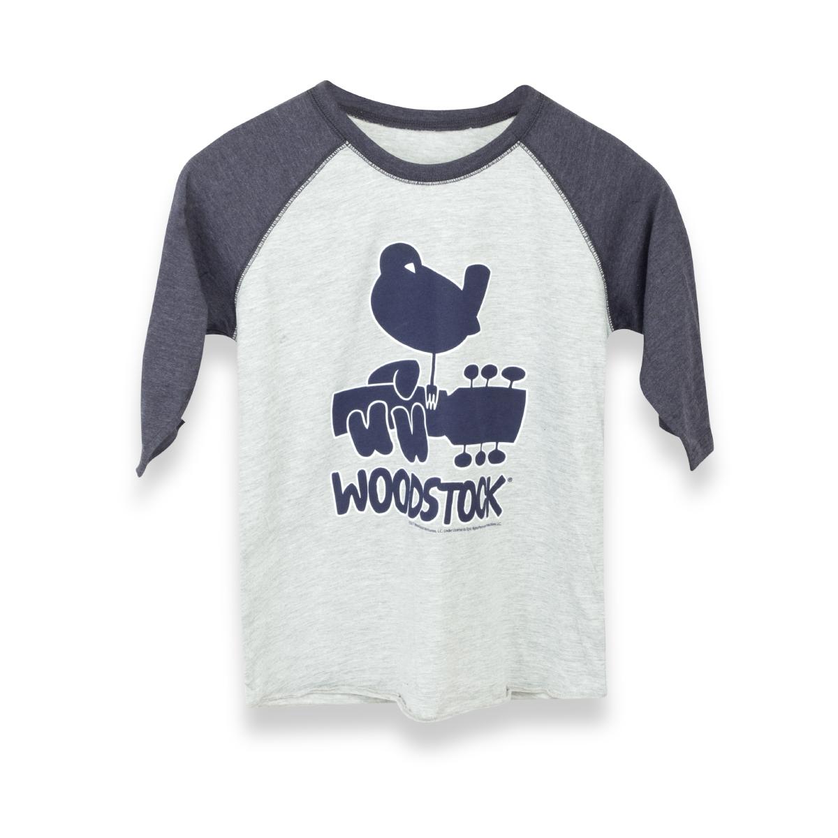 Woodstock Blue Youth Raglan