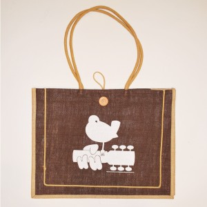 Brown Woodstock Tote