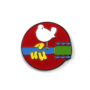 The Woodstock x Sloth Steady Logo Pin