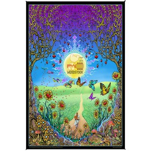 Woodstock Back To The Garden Tapestry