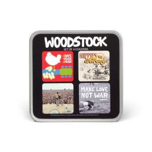 Woodstock Coasters 4 Pack