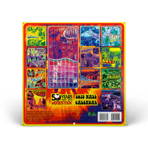 Woodstock 50th Anniversary 2019 Wall Calendar