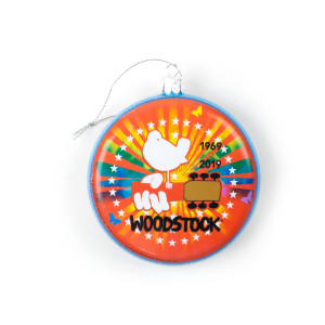 Woodstock 50th Anniversary Ornament