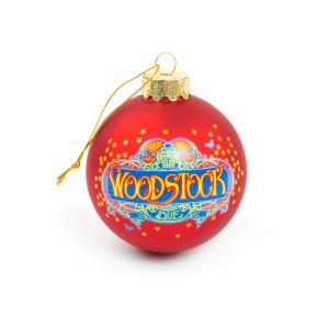 Woodstock Glass Ball Ornament